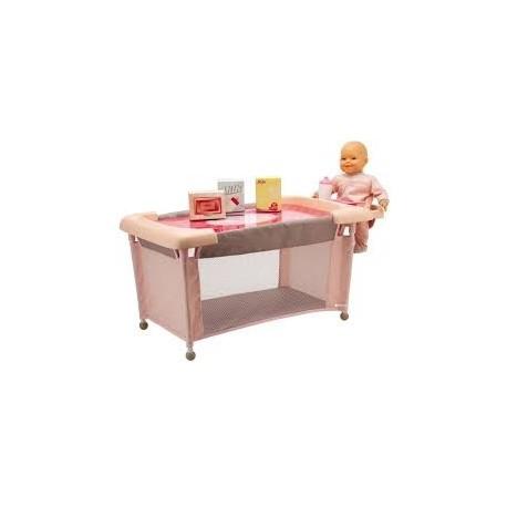 BAOBAB Набор 4 в 1: Пупсик Камилла BEBE VANILLE с детским пеленальным столиком и аксессуарами 113504 уценка