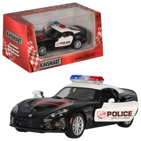 Машинка KT 5363 WP (24шт) металл,инер-я,полиция