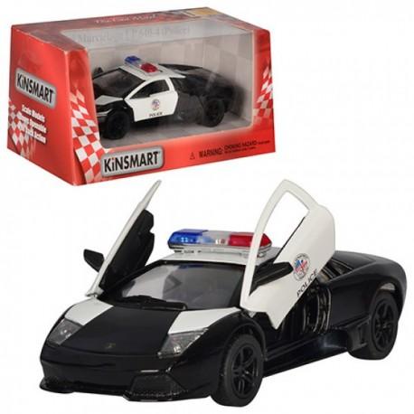 Машинка KT 5317 WP (24шт) металл,инер-я,полиция
