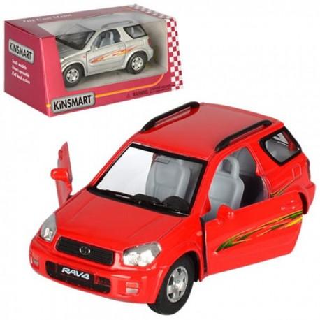 Машинка KINSMART KT 5041 W TOYOTA RAV4