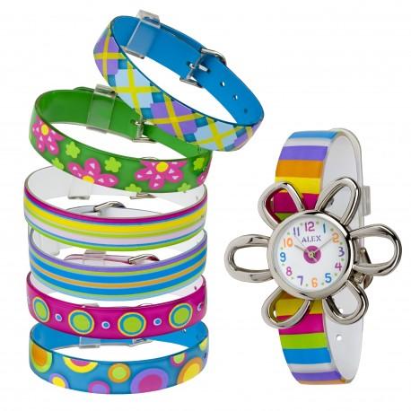 ALEX Цветочные часы -Браслеты 111W