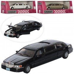 Лимузин KINSMART KT 7001 WW LOVE LIMOUSINE, инерц., кор.