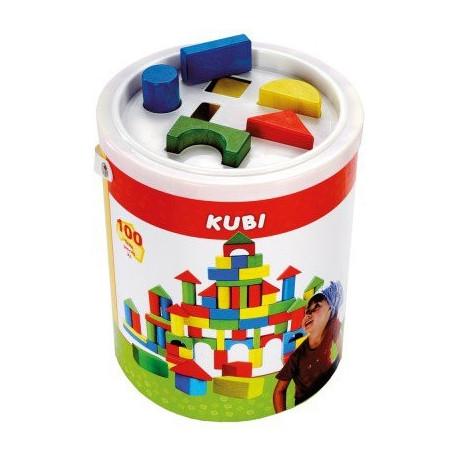 Кубики ведро ,100дет. 84196 уценка