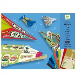 """DJECO Художественный комплект оригами """"Самолеты"""" DJ 08760"""