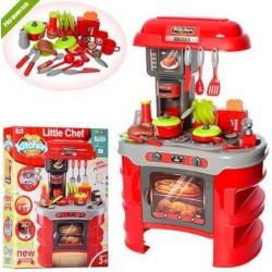 Детская кухня 008-908A звук свет посуда