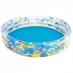 Бассейн BW 51004 детский, подводный мир