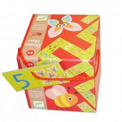 DJECO Игра-детское домино Раз Два Три 08168