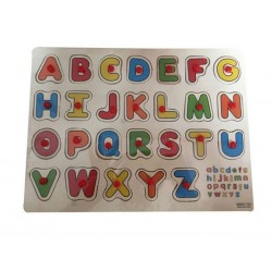 Деревянный вкладыш, англ. Буквы (арт. MWZ-701)