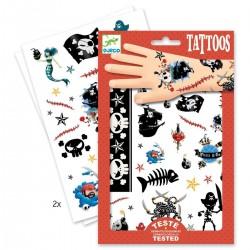 DJECO Татуировки на тело Пираты 09584