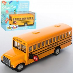 Автобус KS 6501 W (24шт) металлический