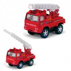 Машинка KS 3507 W (24шт) металл, инер-я,пожарная