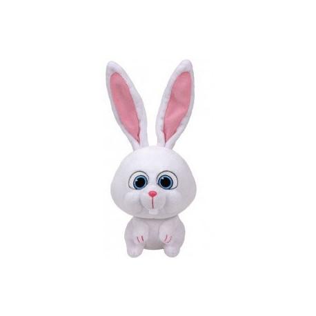 TY SECRET LIFE OF PETS Кролик СНЕЖОК (маленький) 41168 уценка