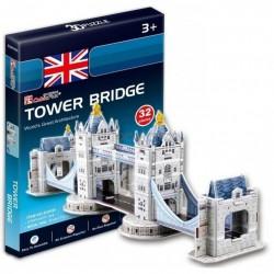 CubicFun Трехмерная головоломка-конструктор «Тауэрский мост» серия мини S3010h