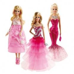 Barbie Кукла в вечерних платьях Bfw16