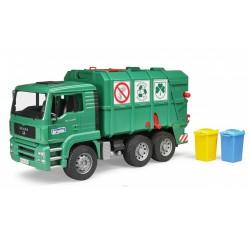 Bruder Мусоровоз MAN TGA зеленый (02753)