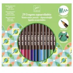 Акварельные Карандаши 24 цвета DJECO 09754