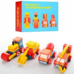 Деревянная игрушка Машина MD 0937