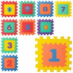 Коврик Мозаика M 5731 (10шт) цифры