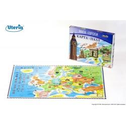 Uteria Карта-пазл «Карта Европы» 50003
