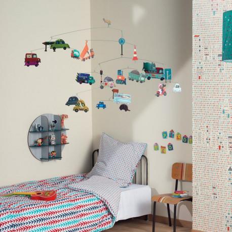 Подвесная игрушка для детской комнаты Мобильный трафик DJ 04309 уценка