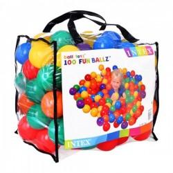Набор мячей 49600 для сухого бассейна 100шт.
