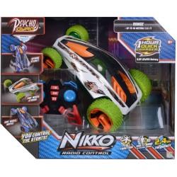 Nikko Машинка на радиоуправлении Psycho Gyro Green 90252