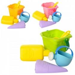 Набор для песочницы Beach toys силиконовый HG-153