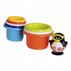 Игрушка для ванны Пингвин-спасатель на башне 23212 уценка