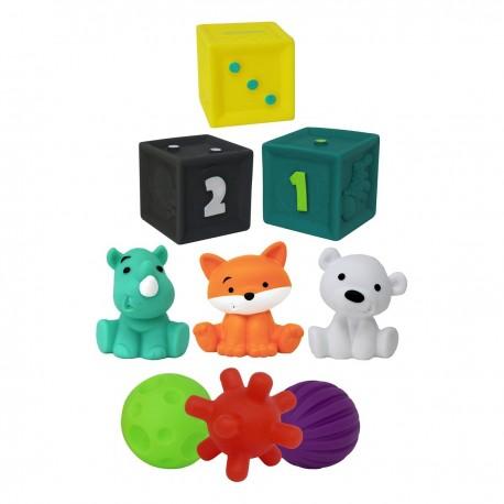 INFANTINO Набор развивающих игрушек в тубусе 216289l уценка