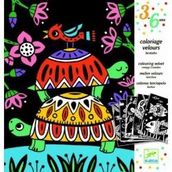 """DJECO Художественный комплект для рисования """"Забавные животные"""" 09624"""