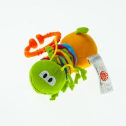Активная игрушка-подвеска Biba Toys ЖИЗНЕРАДОСТНАЯ ГУСЕНИЧКА DS993
