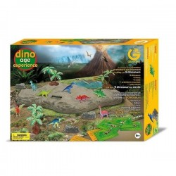 Geoworld Игровой набор Dino Age Experience Dinosaurs Kit (CL169K)