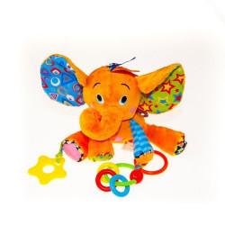 Активная игрушка-подвеска Biba Toys ВЕСЕЛЫЙ СЛОНИК DS992