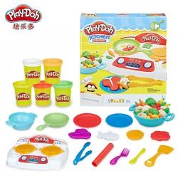 """Hasbro Игровой набор """"Кухонная плита"""" Play Doh B9014 уценка"""