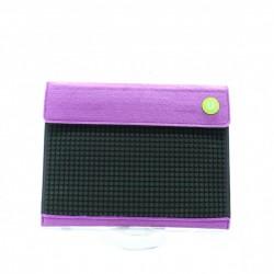Upixel Клатч c ремешком для руки Пурпурно-черный WY-B010U
