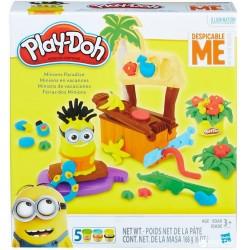 Play-Doh Игровой набор Рай миньонов (B9028)
