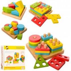 Деревянная игрушка Геометрика MD 1191