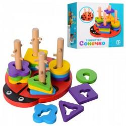 Деревянная игрушка Геометрика MD 1027