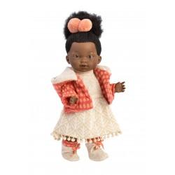 Кукла Llorens Valeria Африканка 28 см 28026
