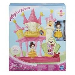 Hasbro Игровой набор Disney Princess: Маленькая кукла Принцесса (крутящаяся) и дворец Белль (E1632)