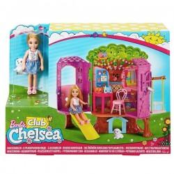 Набор Barbie Mattel Домик на дереве Челси FPF83