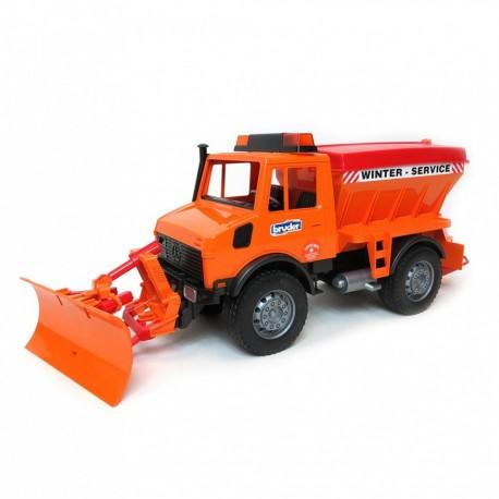 Снегоуборочная машина Bruder MB Unimog 02572