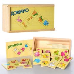 Деревянная игрушка Домино MD 0929