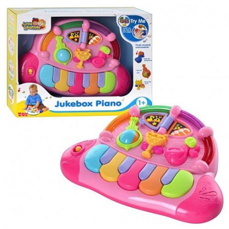 Пианино 3857 T- PINK