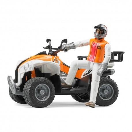 Квадроцикл + фигурка водителя (63000)