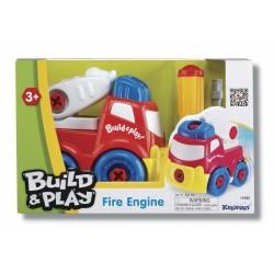 Конструктор Keenway Пожарная машина, Строй и играй 11935