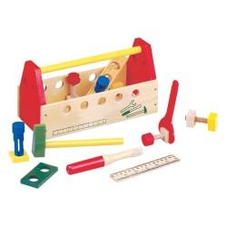 Деревянный набор инструментов Bino 82146
