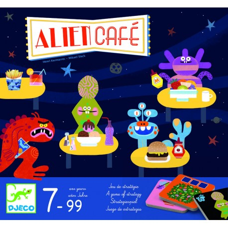 Настольная игра Djeco Кафе инопланетян Alien Café 08410