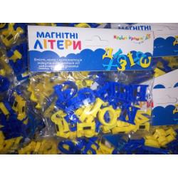 Буквы магнитные KI-7000 (украинский алфавит)