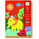 Художественный набор Djeco Рисование цветным песком Прогулка 08660